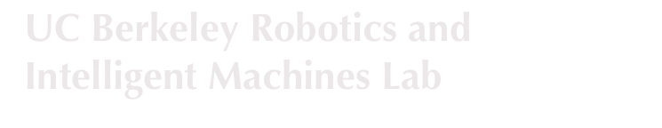 The UC Berkeley Robotics and Intelligent Machines Lab
