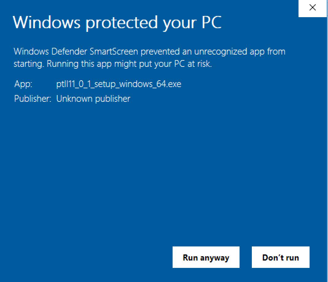 Ptolemy II 11 0 1 Windows Installer